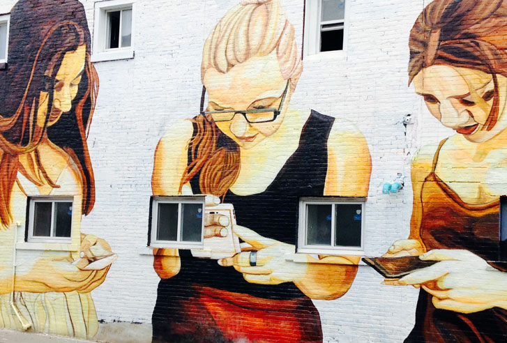 St. Catharines Mural, Photo by David Fancy
